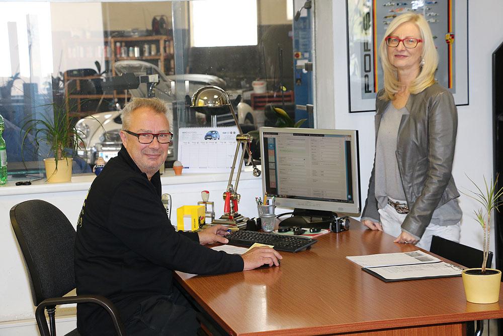Herrmann Haag im Büro